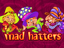 Автомат Безумные Шляпники онлайн на деньги
